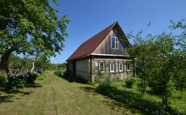 Деревянный дом на участке 15 соток в д.Горки (3 км от Волоколамска)